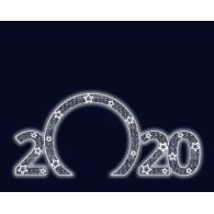 """Световая арка """"2020"""""""