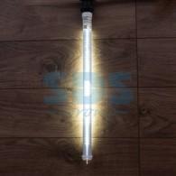 Сосулька светодиодная 50 см, 220V, Е27, двухсторонняя, 48х2 диодов, цвет диодов белый