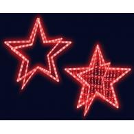 Звезда из дюралайта с нитью  (Z4) с контроллером