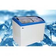 Морозильный ларь с гнутым стеклом JUKA M300S б/у