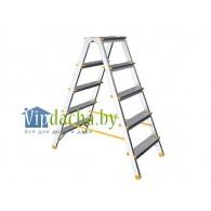 Лестница-стремянка алюм. двухсторонняя 121 см 6 ступ., 4,04 кг (до 120 кг) iTOSS Eurostyl (2926)
