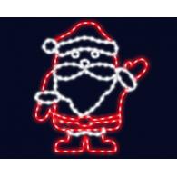 "2D фигура ""Дед Мороз"""