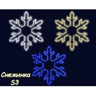"""2D фигуры """"Снежинки"""" S3"""