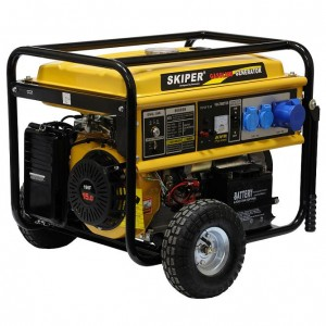 Бензиновый генератор Skiper LT8000EK