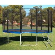 Комплект батут Trampoline Fitness 15FT-Extreme с сеткой и лестницей, диаметр 457 см