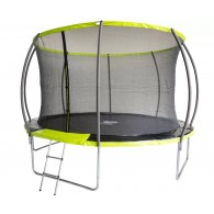 Батут Fitness Trampoline GREEN 10 FT Extreme Inside