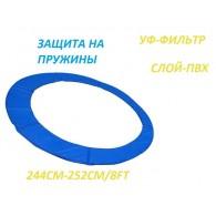 Кожух для батута (защита на пружины) 8ft (244-252 см)