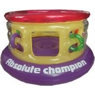 Надувной детский мини батут 150 см для дома и улицы Absolute Champion