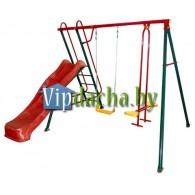 Детский игровой комплекс «Солнышко-5» ( качели + горка)