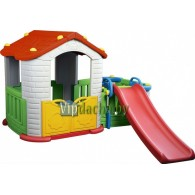 Детский игровой комплекс «Домик с горкой»
