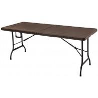Стол складной GoodHome MZK-180 (коричневый)