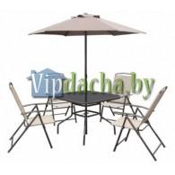 Комплект садовой мебели Палеро (Стол+Зонт+4 кресла)