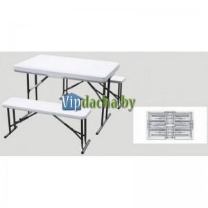 Складной стол Green Glade WX-B113 с 2 скамейками