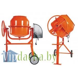 Бетоносмеситель ECO CM-150 (Объём 150 л., 750 Вт., 230 В., вес 49 кг., педаль для опрокидывания)