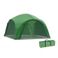 Садовый тент-шатер Green Glade 1264 с 4 сетчатыми стенками