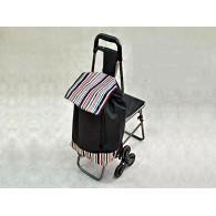 Тележка с сумкой и сиденьем C302-1