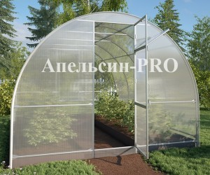 "Теплица ""Апельсин PRO"" 6 метров + поликарбонат"
