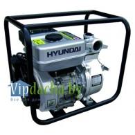 Мотопомпа Hyundai HY50, 5,5л.с., 4,0 кВт, 500л/мин