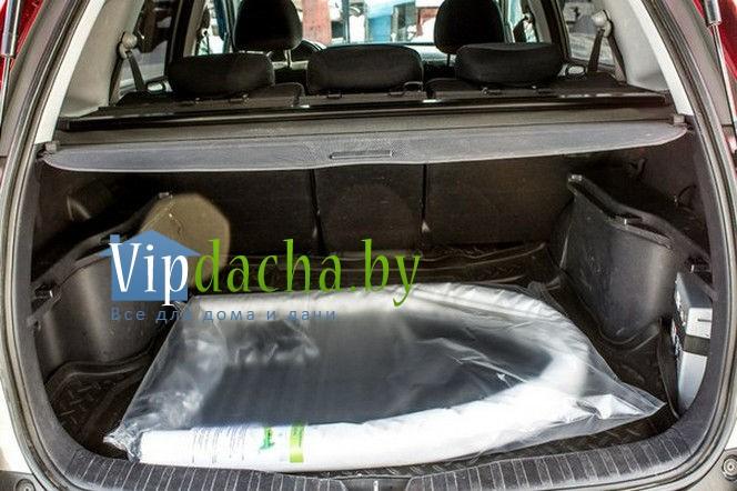 парник из спанбонда в багажнике легкового авто